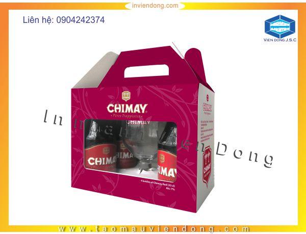 In hộp bia giá rẻ, lấy nhanh tại Hà Nội - ĐT: 0904242374